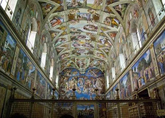 A maravilhosa Capela Sistina