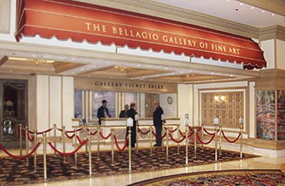 Arte no Bellagio em Las Vegas