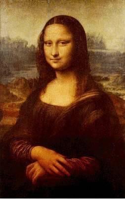 Curiosidades da Mona Lisa, Leonardo da Vinci