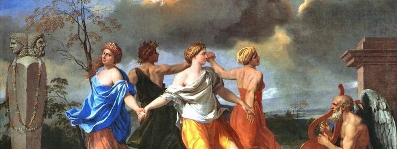 Uma Dança para a Música do Tempo, Nicolas Poussin