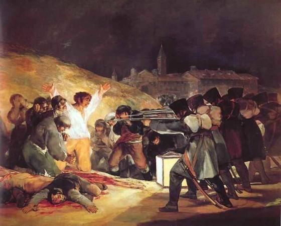 O 3 de Maio de 1808 em Madri, Francisco de Goya