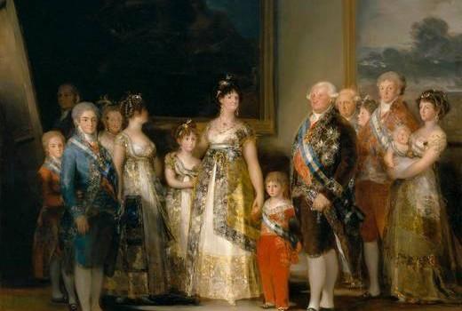 A Família Real de Carlos IV, Francisco de Goya