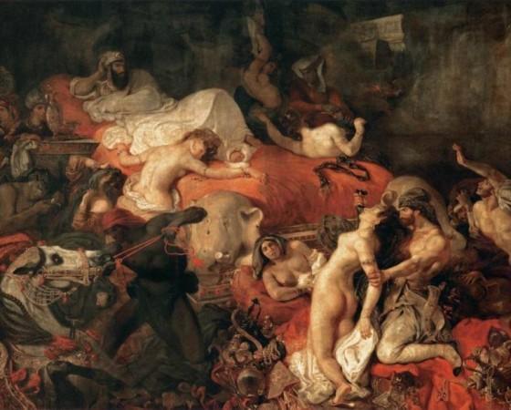A Morte de Sardanapalo, Eugène Delacroix