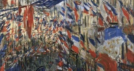 Rua Saint Denis e Rua Montorgeuil, Claude Monet