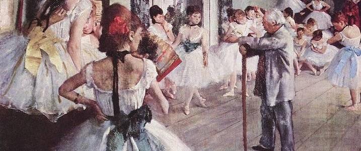 A Aula de Dança, Edgar Degas