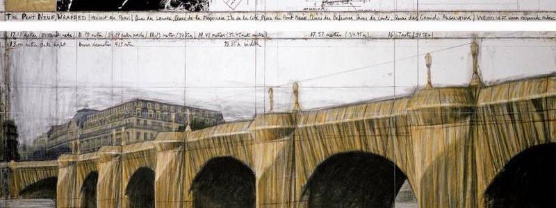 A Pont Neuf, Paris, Javacheff Christo