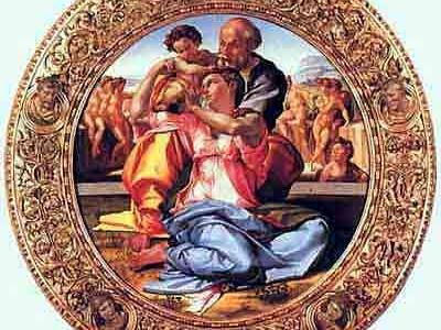 Tondo Doni, Michelangelo