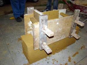 Forma de taipa de pilão