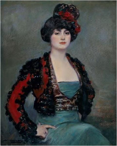 Julia, Ramon Casas Carbó, c. 1915, óleo sobre tela, Coleção Carmen Thyssen-Bornemisza, Madri.