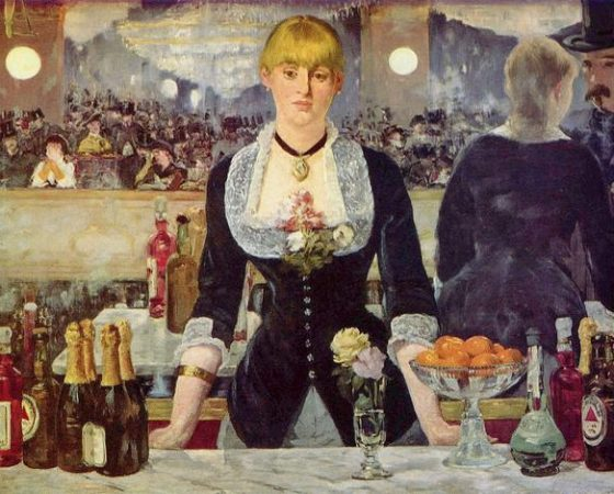 Um Bar no Folies-Bergère, Édouard Manet