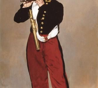 O Pífaro, Édouard Manet