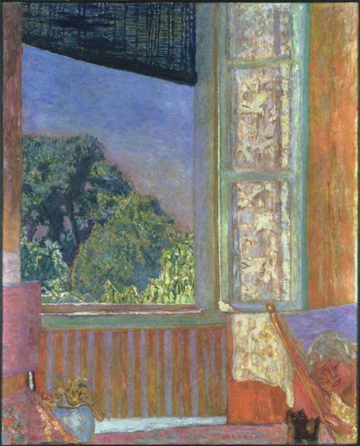 A Janela Aberta, c.1921, Pierre Bonnard, óleo sobre tela, Coleção Phillips, Washington DC