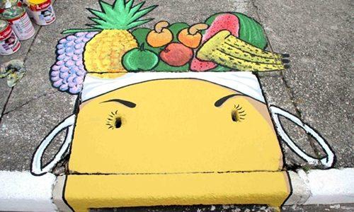 Intervenção artística urbana