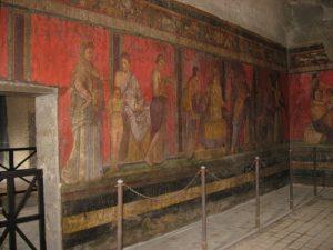 Afrescos do Quarto Estilo Pompeiano