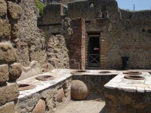 Fornos coletivos - Pompeia