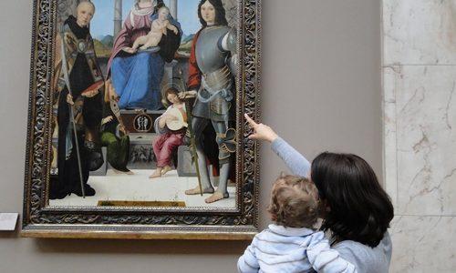 Levar as Crianças aos Museus