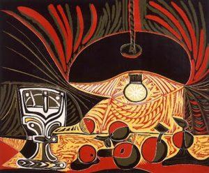 Linoleogravura - Vida abaixo da Lâmpada - Pablo Picasso - 1962