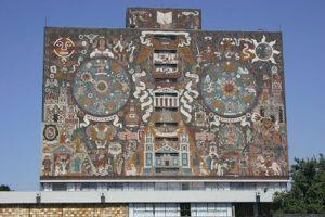 Mosaico aplicado à arquitetura. México