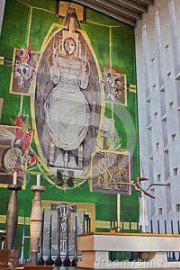 Tapeçaria da Catedral de Coventry - Inglaterra