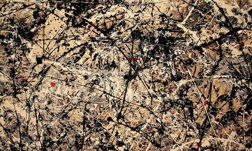 Número 1A, 1948, Jackson Pollock
