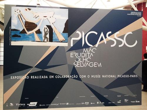 Exposição Picasso – Mão Erudita, Olho Selvagem