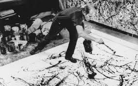 Jackson Pollock e sua forma de pintar