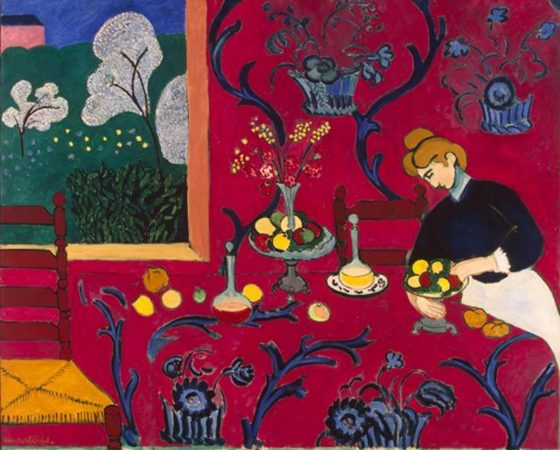 Harmonia em Vermelho, Henry Matisse