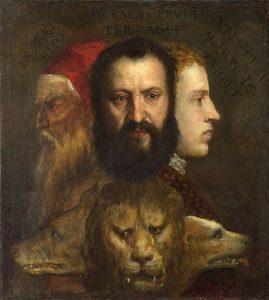 Alegoria da Prudência - Ticiano