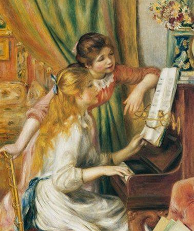 Jovens Filhas ao Piano, Renoir