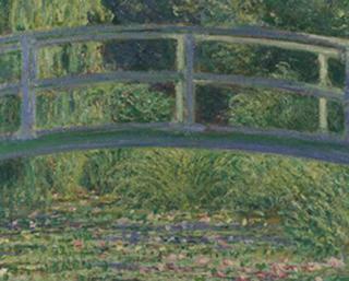 Lago com Nenúfares, Claude Monet