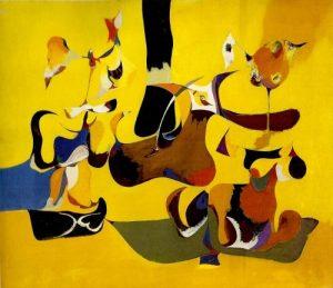 Garden in Sochi - 1940-41 - Arshile Gorky - Museu de Arte Moderna de Nova York - MoMA - Estados Unidos