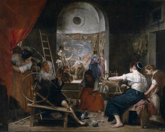 As Fiandeiras, Velázquez