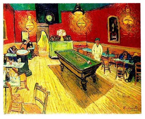 Café Noturno, 1888 – Vincent Van Gogh