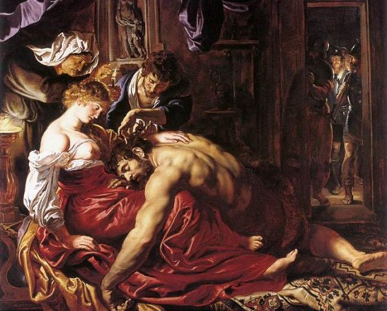 Sansão e Dalila, Rubens