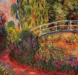 Ponte Japonesa - 1900 -Claude Monet
