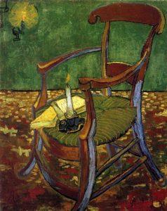 Cadeira de Gauguin- Vincent Van Gogh