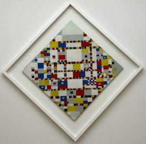 Victory Boogie Woogie - Piet Mondrian - Museu de Arte Moderna MoMA de Nova York - Estados Unidos