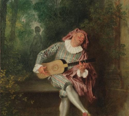 Mezzetin, Jean-Antoine Watteau