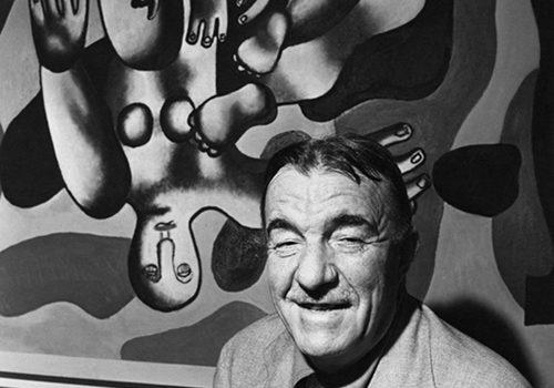Os Acrobatas – Fernand Léger