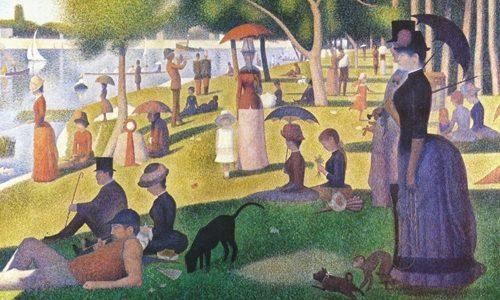 Tarde de Domingo na Ilha de Grand Jatte, George Seurat