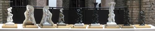 Como se faz uma escultura de metal?