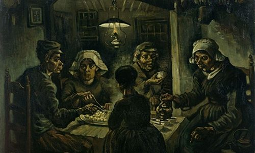 Os Comedores de Batatas, Vincent Van Gogh