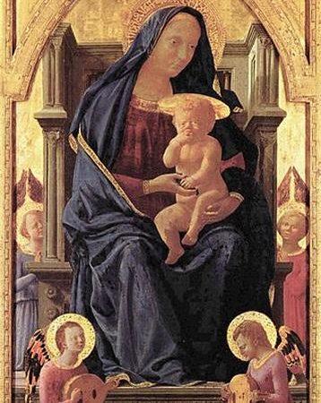 A Virgem e a Criança, Masaccio