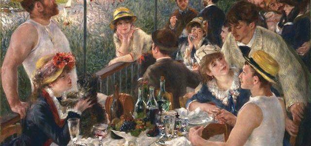 Almoço em La Grenouillère, Renoir