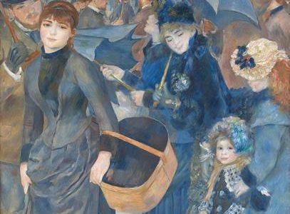 Os Guarda-Chuvas, Pierre-Auguste Renoir