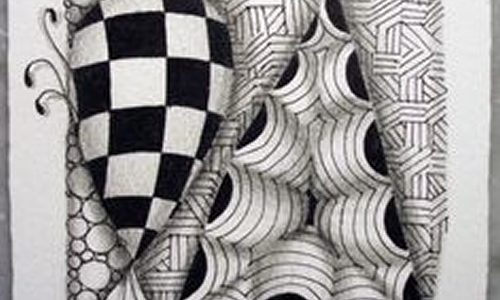 Meditar desenhando – Zentangle