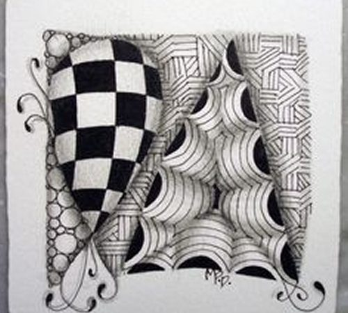 Meditar desenhando – Zentangle