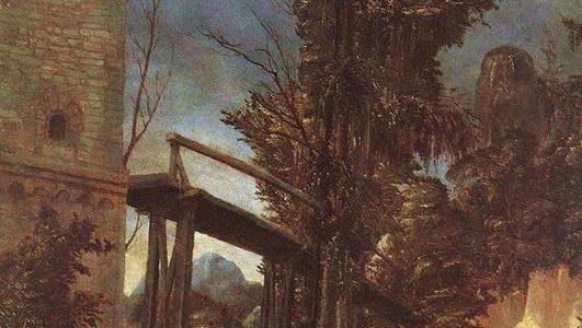 Paisagem com Ponte, Albrecht Altdorfer
