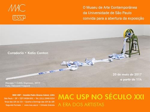 MAC no Século XXI – A Era dos Artistas