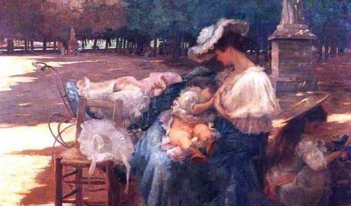 A Maternidade – Obra de Eliseu Visconti